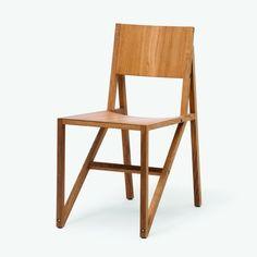 Established & Sons - Frame Chair Set 2er Set - eiche natur