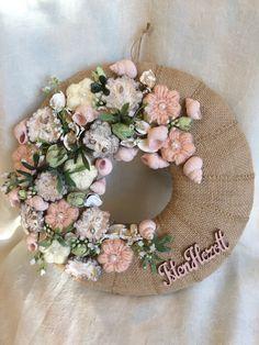 Wreath Crafts, Diy Wreath, Tutu Wreath, Wood Wreath, Beaded Ornaments, Easter Wreaths, Summer Wreath, Mobiles, Flower Designs