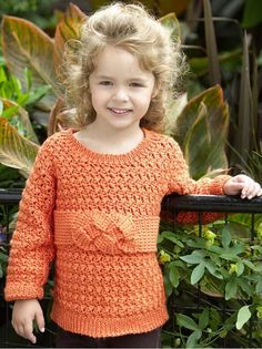 Child's Friendship Knot Sweater