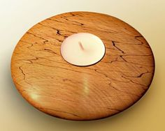 Woodwork Wood Turned Candle Holders PDF Plans