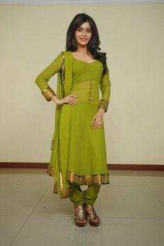 Samantha Ruth Prabhu In Green Churidar Nice Look Photo Still