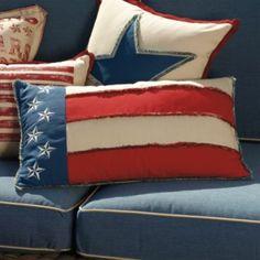 Star-spangled Banner Lumbar Pillow