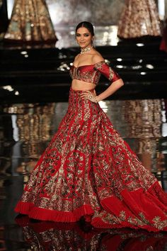 Manish Malhotra, India's leading designer, created a stunning collection featuring bridal lehengas, sarees, sherwanis and more.