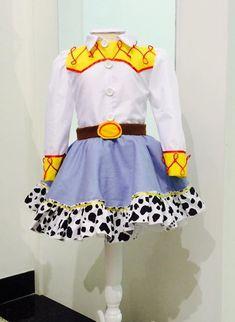 Fantasia Jessie Toy Story.  Vestido 100% algodão. Maravilhosa!!!!!!