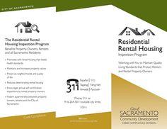 Rental Housing Brochure Cover