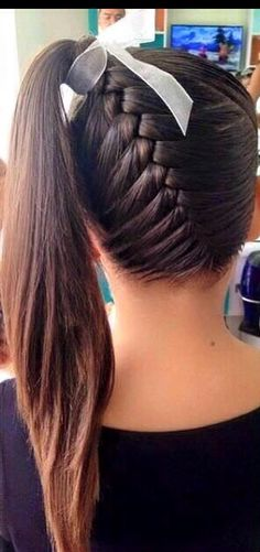 75 Easy Braids for Kids (with Tutorial) Long Hair Braided Hairstyles, Natural Hairstyles For Kids, Braided Hairstyles Tutorials, Little Girl Hairstyles, Cute Hairstyles, Natural Hair Styles, Long Hair Styles, Teenage Hairstyles, Braids For Black Hair