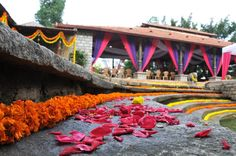 Awesome floral wedding decor  by 3 Production Wedding Planners in Bangalore