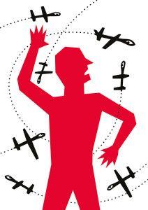 Wyn Tiedmers, Drohnenschwarm / Mut zur Wut, 2014