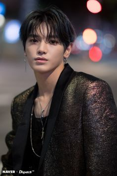 """Taeyong (NCT - Unreal handsomeness in Kpop NCT """"killer trio"""" including Jaehyun, Doyoung and Taeyong once again stole the fans' hearts with series of photos taken with Dispatch. Lee Taeyong, Jaehyun, Rapper, Taemin, Shinee, K Pop, Nct Debut, Ntc Dream, Johnny Seo"""