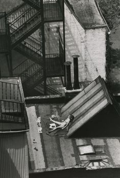 """Sunny Day, New York"", by André Kertész (August 12, 1978)"