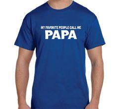 Father Gift Husband gift Papa Shirt Grandfather by BlueMonkeys