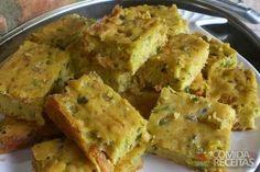 Receita de Torta de sardinha de liquidificador - Comida e Receitas