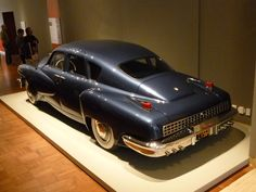 Tucker Torpedo...I did get to see one in person at the High…