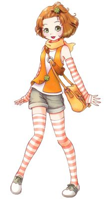 Tina (Harvest Moon: A New Beginning) She looks so much like Amanda/Tina, the female protag from Harvest Moon: Magical Melody! Video Game Characters, Female Characters, Anime Characters, Harvest Moon Game, Tales Of Xillia, Pokemon, Moe Anime, Game Concept Art, Moon Lovers