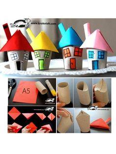 88 súper manualidades con rollos de papel higiénico