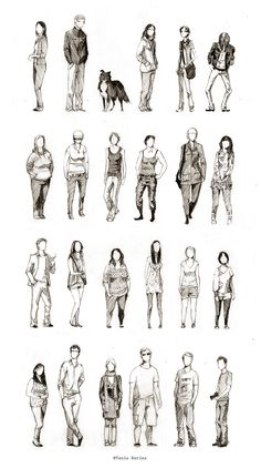 New Art Sketches Human Figure Sketches, Human Sketch, Figure Sketching, Urban Sketching, Figure Drawing, Painting & Drawing, Painting People, Drawing People, People Illustration