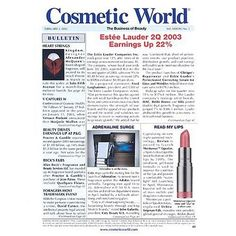 Cosmetic World    Price: $175.00