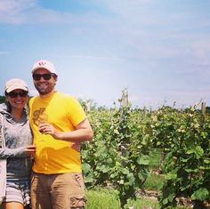 What other way to spend the day?  #pourandpedal #vineyards #biketours #winery #wine #lenz #northfork #newjersey #hamptons #repost @gourmet_anna