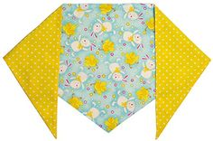 Dog Easter Bunny Bandana M Ties on 1113 Neck * You can get more details by clicking on the image.