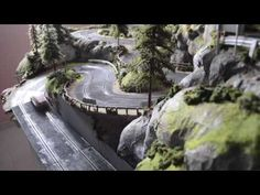 pasionslot - Tramo de rally subida santa Perpetua - Decoración y S&B de Circuitos Slot Car Racing, Slot Car Tracks, Slot Cars, Rally, Rc Track, Model Train Layouts, Balinese, Courses, Model Trains