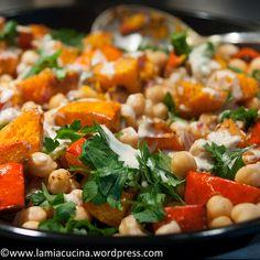 Pumpkin, Chickpea, Tahini Salad (Recipe: Casa Moro)