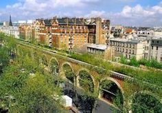 Promenade Plantee Paris - (Paris version of HighLine NYC) - admire rooftops from this elevated 2.8 mile pedestrian path of flowers and greenery built atop an old railway viaduct. Start from Nation & walk toward Bastille. Avenue Daumesnil, Bastille