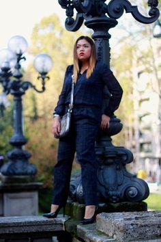 Zara Tartan Jumpsuit ▶ http://www.lyst.com/clothing/zara-checked-jumpsuit-dark-green/?ctx=179413&lyst_source=179413&lyst_medium=product&lyst_campaign=link