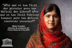 malala yousafzai frases celebres - Buscar con Google