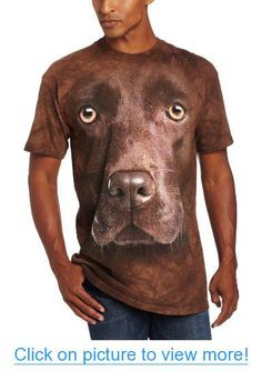 The Mountain Men's Chocolate Lab Face
