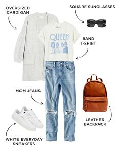 6 Jean Outfits for All Your Weekly Events   The Everymom Mom Outfits, Jean Outfits, Everyday Outfits, Summer Outfits, Casual Outfits, Cute Outfits, Fashion Outfits, Beautiful Outfits, Fashion Fashion