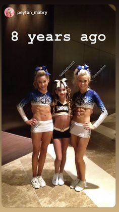 Little Gabi Butler Cute Cheer Pictures, Cheer Picture Poses, Cheer Pics, Softball Pictures, Cheerleading Jumps, Cheer Stunts, Maddie And Mackenzie, Cheer Quotes, Cheer Hair