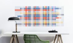 Our 2016 Wallpaper planner is a bright, visually interesting calendar large enough to write notes and memos on the days or left as a day / date reference and something colourful to put on your wall.