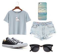 """""""Summer"""" by egloomis ❤ liked on Polyvore featuring Converse and Casetify"""