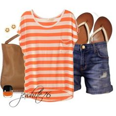 Stripes of Orange