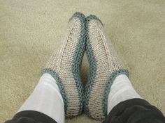 ravelry: non-felted slippers pattern