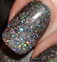 new years eve nails :) want these!!!!