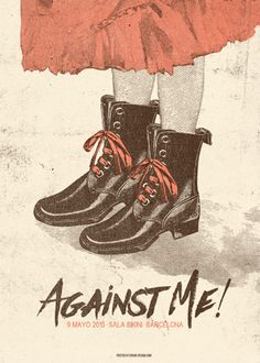GigPosters.com - Against Me!