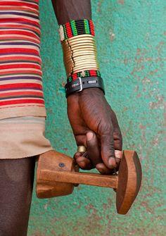 Hamer man Ethiopia | ©Eric Lafforgue