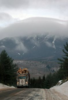 Mount Katahdin, Maine~ love this photo! tourists wouldn't like it, but it's a true reminder to me of the beauty and the hard working people of the state <3