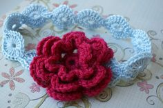 CROCHET PATTERN crochet baby headband by LuzCrochetPatterns, $4.99