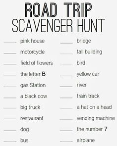 Turning It Home: Taking a Road Trip with Children (Free Printable!)