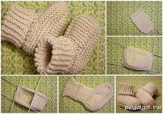 Knitting mittens pattern kids baby booties ideas for 2019 Baby Knitting Patterns, Baby Booties Knitting Pattern, Crochet Socks Pattern, Booties Crochet, Mittens Pattern, Sewing Patterns For Kids, Crochet Baby Booties, Knitting For Kids, Crochet For Kids