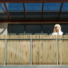 Vintage casa pura Bambus Sichtschutz Bambusmatte in Premiumqualit t massive Bambusrohre naturbelassen drei