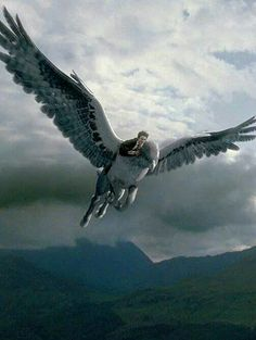 Buckbeak not only helps rescue Sirius but teaches Malfoy a lesson - plus this just looks really fun.