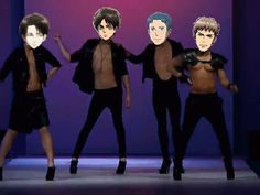 13. Shingeki no FABULOUS! | 16 Funny Attack On Titan GIFs Marco, what the hell are you doing?