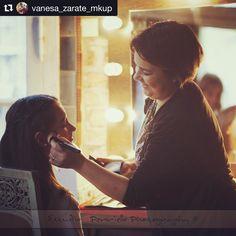 #Repost @vanesa_zarate_mkup ・・・ #makeupartist #campanopolis #producciondefotos #book15años #maquillaje #vocacion  Maquillar= felicidad 🌟😍❤