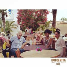 Friends at Dolcevita party