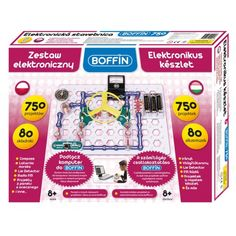 BOFFIN 750 elektronikai tudományos és ismeretterjesztő építőjáték 8 éves kortól - BOFFIN