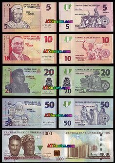 Nigeria banknotes - Nigeria paper money catalog and Nigerian currency history