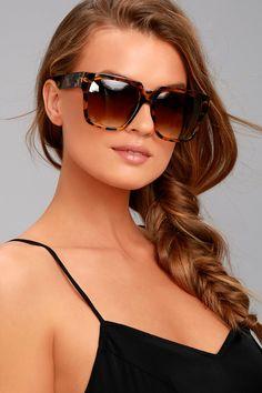 46feebfe9e Perverse Buh Bye Paparazzi Tortoise Sunglasses
